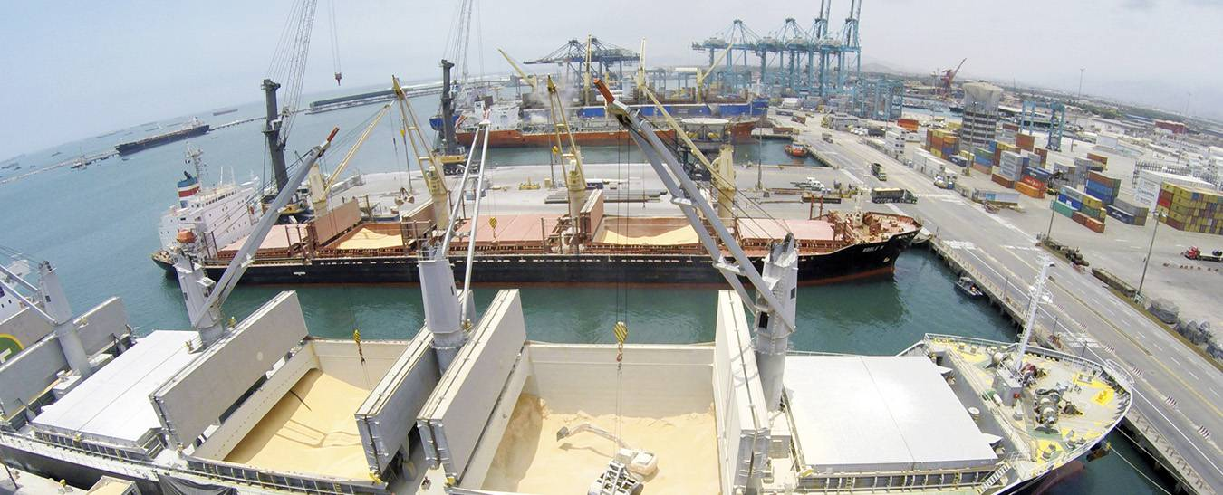 terminales APM en el puerto de Callao