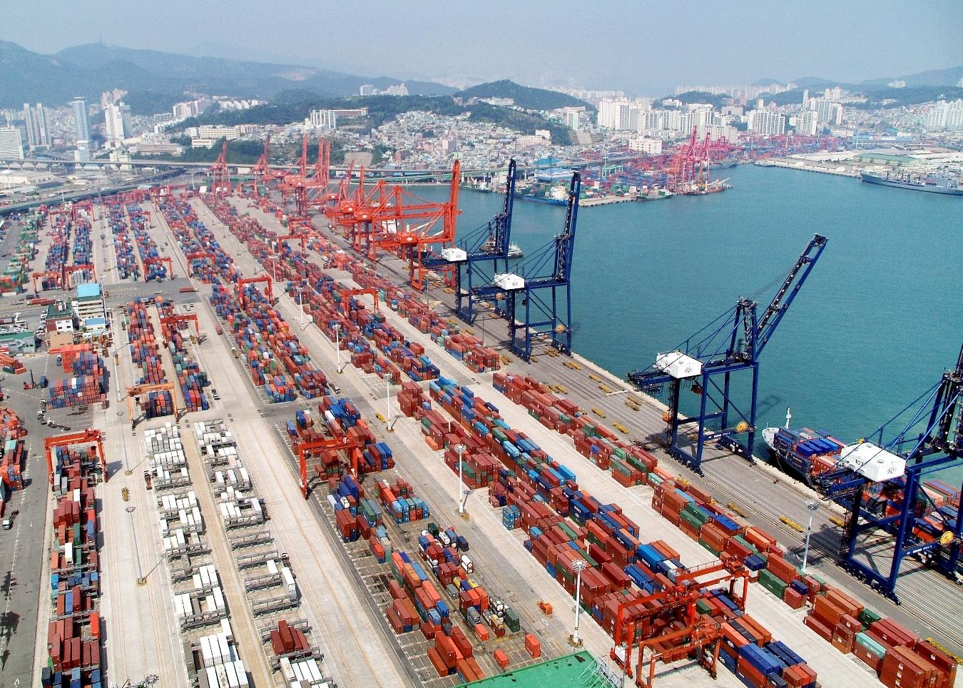 Puerto de Busan - Corea del Sur